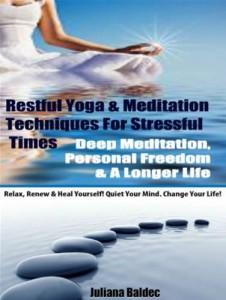 Baixar Restful yoga & meditation techniques for pdf, epub, ebook