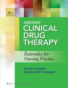 Baixar Abrams clinical drug therapy, 10th ed. + pdf, epub, ebook