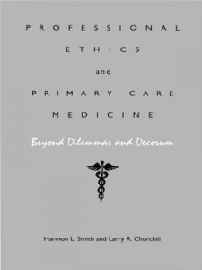 Baixar Professional ethics and primary care medicine pdf, epub, ebook