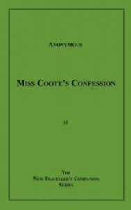Baixar Miss coote's confession pdf, epub, eBook