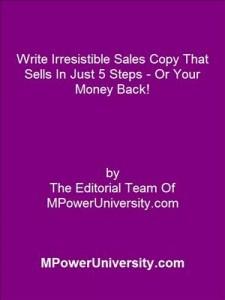 Baixar Write irresistible sales copy that sells in just pdf, epub, eBook