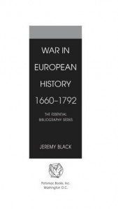 Baixar War in european history, 16601792 pdf, epub, eBook