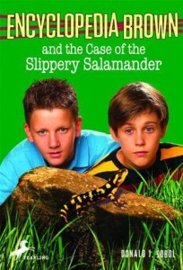 Baixar Encyclopedia brown and the case of the slippery pdf, epub, ebook