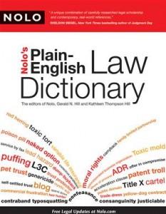 Baixar Nolo's plain-english law dictionary pdf, epub, eBook