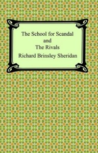 Baixar School for scandal and the rivals, the pdf, epub, ebook