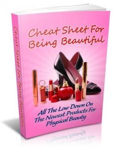 Baixar Cheat sheet for being beautiful pdf, epub, ebook