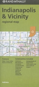 Baixar Rand mcnally indianapolis & vicinity regional map pdf, epub, eBook