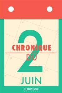 Baixar Chronique du 2 juin pdf, epub, ebook