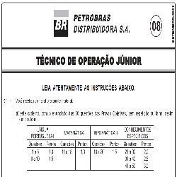 Baixar PROVA COMENTADA PETROBRÁS – PROVA 8 – Técnico de Operação Jr – Set 2008 pdf, epub, eBook