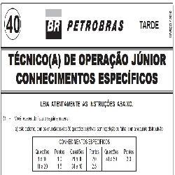 Baixar PROVA COMENTADA PETROBRÁS – PROVA 40 – Técnico de Operação Jr – 2010 pdf, epub, eBook