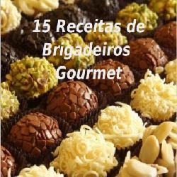 Baixar 15 Receitas de Brigadeiros Gourmet pdf, epub, eBook