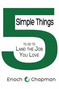 Baixar 5 simple things to do to land the job you love pdf, epub, eBook