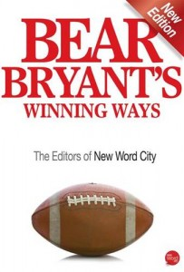 Baixar Bear bryant's winning ways pdf, epub, eBook