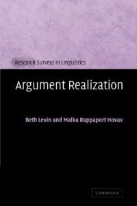 Baixar Argument realization pdf, epub, ebook