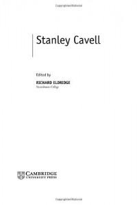 Baixar Stanley cavell pdf, epub, eBook