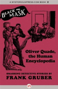 Baixar Oliver quade, the human encyclopedia pdf, epub, eBook