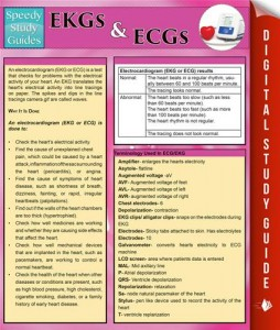 Baixar Ekgs and ecgs (speedy study guides) pdf, epub, ebook