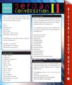 Baixar German conversation il (speedy study guides) pdf, epub, ebook