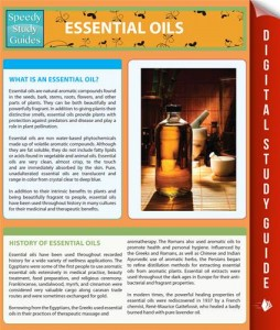 Baixar Essential oils (speedy study guides) pdf, epub, ebook
