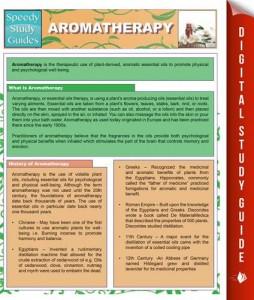 Baixar Aromatherapy (speedy study guides) pdf, epub, ebook