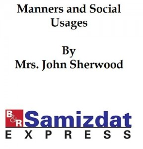 Baixar Manners and social usages (1887) pdf, epub, eBook