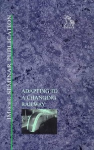 Baixar Adapting to a changing railway pdf, epub, ebook