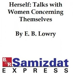 Baixar Herself: talks with women concerning themselves pdf, epub, ebook