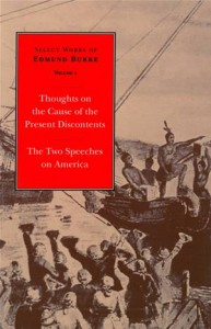 Baixar Thoughts on the cause of the present discontents pdf, epub, eBook