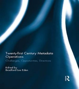 Baixar Twenty-first century metadata operations pdf, epub, ebook