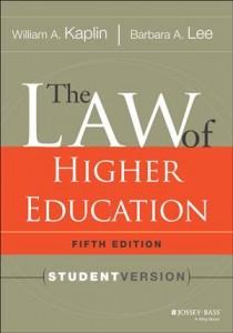 Baixar Law of higher education, 5th edition, the pdf, epub, eBook