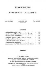 Baixar Blackwood's edinburgh magazine, vol. 68, no 420, pdf, epub, eBook