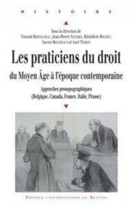 Baixar Praticiens du droit du moyen age a l'epoque pdf, epub, eBook
