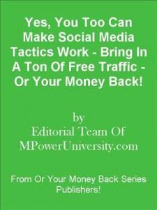 Baixar Yes, you too can make social media tactics work pdf, epub, eBook