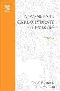 Baixar Advances in carbohydrate chemistry pdf, epub, ebook