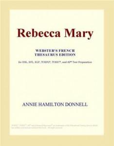 Baixar Rebecca mary (webster's french thesaurus edition) pdf, epub, eBook