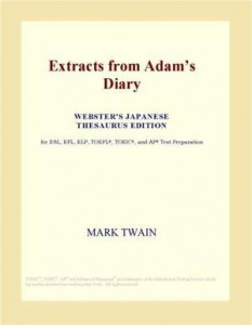 Baixar Extracts from adam's diary (webster's japanese pdf, epub, ebook