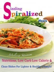 Baixar Sizzling spiralized meals pdf, epub, eBook
