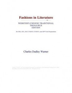 Baixar Fashions in literature (webster's chinese pdf, epub, ebook