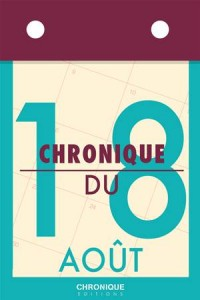 Baixar Chronique du 18 aout pdf, epub, eBook