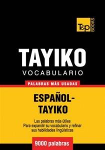 Baixar Vocabulario espanol-tayiko – 9000 palabras mas pdf, epub, ebook