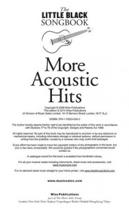 Baixar Little black songbook of more acoustic hits, the pdf, epub, ebook