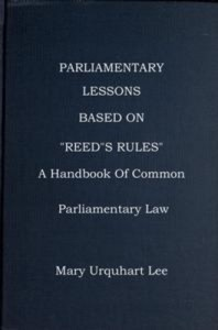 "Baixar Parliamentary lessons: based on ""reed's rules of pdf, epub, ebook"