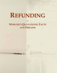 Baixar Refunding: websters quotations, facts and pdf, epub, ebook