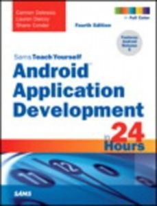 Baixar Android application development in 24 hours, pdf, epub, ebook