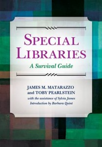 Baixar Special libraries: a survival guide pdf, epub, ebook
