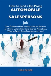 Baixar How to land a top-paying automobile salespersons pdf, epub, eBook