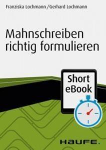 Baixar Mahnschreiben richtig formulieren pdf, epub, eBook