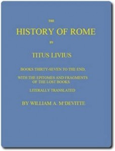 Baixar History of rome, books 37 to the end, the pdf, epub, ebook