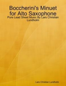 Baixar Boccherini's minuet for alto saxophone – pure pdf, epub, ebook