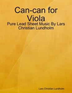 Baixar Can-can for viola – pure lead sheet music by pdf, epub, ebook